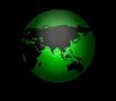 Animated Spinning Globe Earth