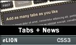 CSS3 Tabs - ClassiTabs