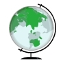 animated globe of the Earth