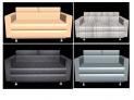 Modern Sofa (2 Sitter)