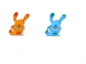 animated rabbits, rabbits, dancing rabbits