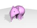 Baby Elephant Lady