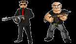 Mafia/Gangster Mascots