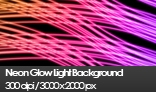 Neon Glow Light Background