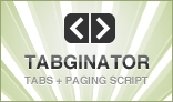 Tabginator Tabbing and Paging