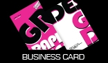 Pink Graphic Designing (Business Card)