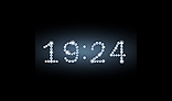 Diamond digital clock