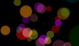 Abstract dream spots. Colored circles