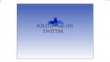 flash twitter button