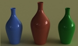botellas de porcelana
