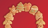 Christmas Gingerbread Cookies Garland