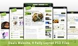 Deals Website - PSD Template