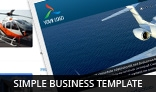 Simple Business Template (Zirconia)