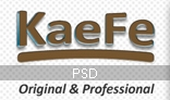 KaeFe - Professional PSD Template