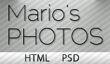 Mario's Photo – HTML Blog/Photography Theme