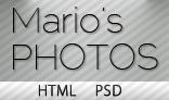 Mario's Photo – HTML Blog/Photography Theme