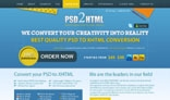 PSD2HTML Website Template