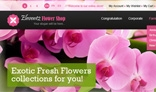 Magento Flower Store Theme