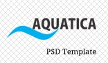 Aquatica PSD Template
