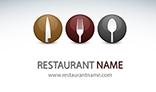 Modern Restaurant Business Card V2