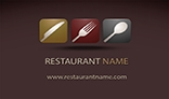 Modern Restaurant Business Card V3