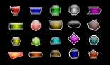 Glossy Flash Buttons
