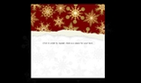 Tearing paper - Christmas background