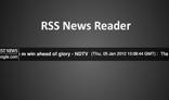 RSS News Reader (With php curl power)