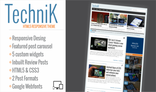 TechniK - Responsive Wordpress Magazine / Blog