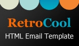 RetroCool – Clean and Scalable Email Template for Small Businesses