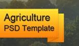 Agriculture Portfolio PSD Website