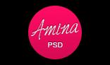 Amina - Single Page Portfolio Template