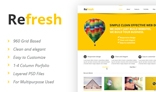 Refresh - Multipurpose PSD template