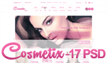 Cosmetix - Cosmetics eCommerce Website PSD Template