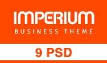 Imperium - Business PSD Template