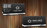 Black Sleek Business Cards