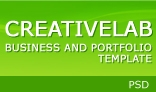 CreativeLab - Business and Portfolio PSD Template