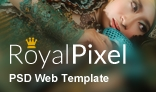 RoyalPixel - PSD Web Template