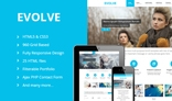 EVOLVE - Responsive Multi-Purpose HTML5 Templ