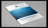 AquaDrop – Annual Report / Magazine