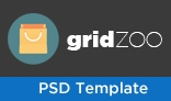 GridZoo-Clean & Modern Ecommerce PSD Template