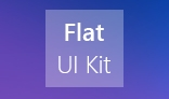Light Flat Web UI Kit