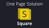 Square onepage potfolio psd