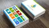 Windows 8 Metro Business Card