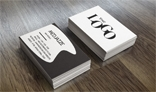 Realistic Business Card Mock-U