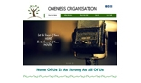 Static web site template for charitable trust