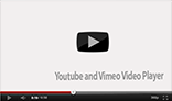 Youtube Vimeo Player PSD