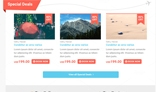 Travel Corporate + eCommerce Website PSD Template