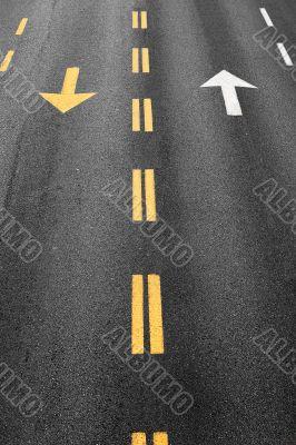 Road arrow
