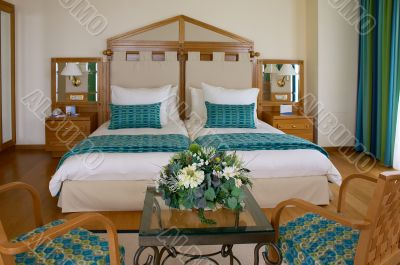 double room in hotel